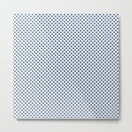 Riverside Polka Dots Metal Print