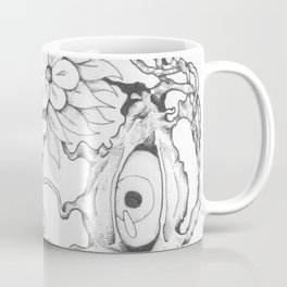 Flower of the Eyes Coffee Mug