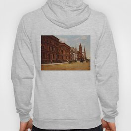 Vintage Fifth Avenue NYC Photo-Print (1900) Hoody
