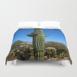 Saguaro Duvet Cover