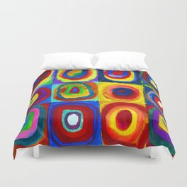 Wassily Kandinsky Color Study Duvet Cover