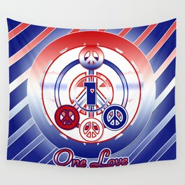 One Love (Patriot) Wall Tapestry
