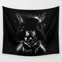 star lord Wall Tapestries featuring Sith Lord by Li.Ro.Vi