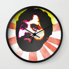 Zach Galifianakis Died for our Sins Wall Clock