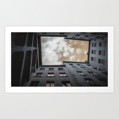 what's up in Lyon?.. Art Print