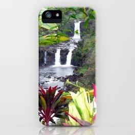 Umauma Falls iPhone Case