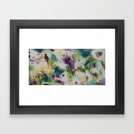 Sitting On Top of the World Framed Art Print