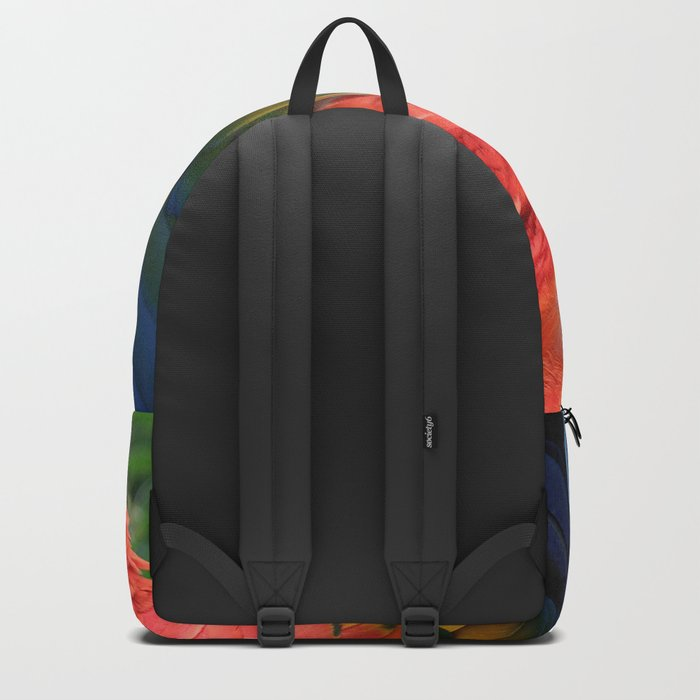 Scarlet Macaw Backpack