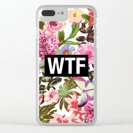 WTF Clear iPhone Case