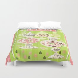Sweets For The Sweet Duvet Cover