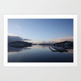 Norwegian Nature -Water I Art Print