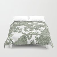 leaf Duvet Covers featuring Leaf  by Maethawee Chiraphong