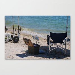 Trolling for Tackle Canvas Print