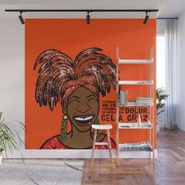 La Reina Celia Cruz Wall Mural