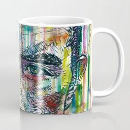 YUKIO MISHIMA watercolor and ink portrait.1 Coffee Mug