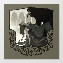 The Plague Doctor Canvas Print