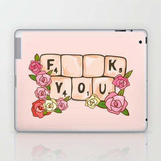 F **U  YOU Laptop & iPad Skin