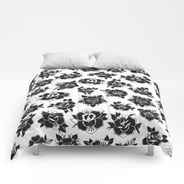 Traditional Roses Pattern Comforters