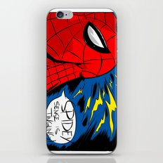 The Spidey Sense iPhone & iPod Skin