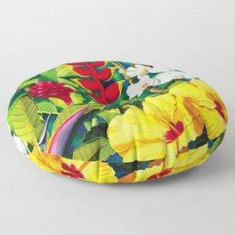 Tropical Panorama part 2 Floor Pillow