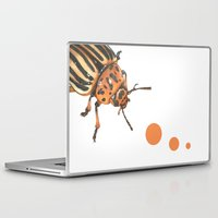 insect Laptop & iPad Skins featuring Insect by Chiara Martinelli Creations