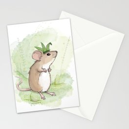 A Little Mouse Prince Named Reed Stationery Cards