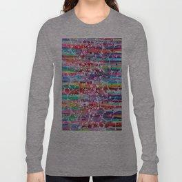 Roses & Bubbles on Rainbows Long Sleeve T-shirt