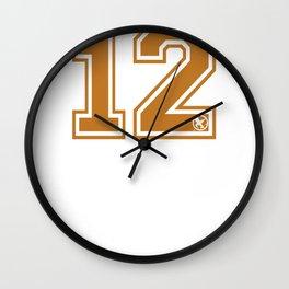 EVERDEEN 12 Wall Clock