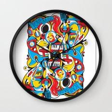 King Of Spades Wall Clock
