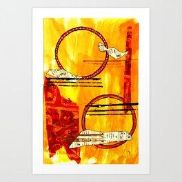 Music of Orbs Art Print