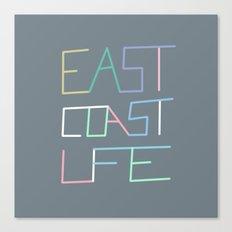 East Coast Life Canvas Print
