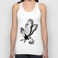 sparrow Tank Tops featuring Sparrow by akreon
