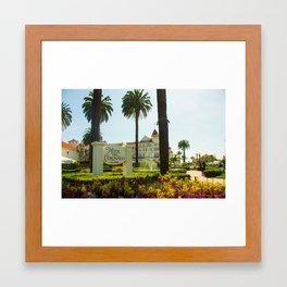 Hotel Del Coronado Framed Art Print