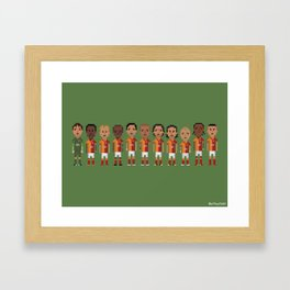 Galatasaray 2013 Framed Art Print