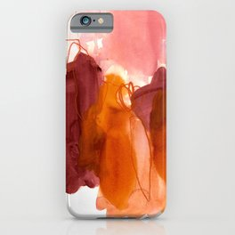 abstract painting X iPhone Case