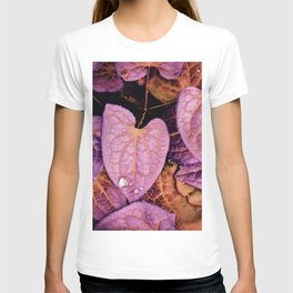 Fallen Leaves With Dew T-shirt