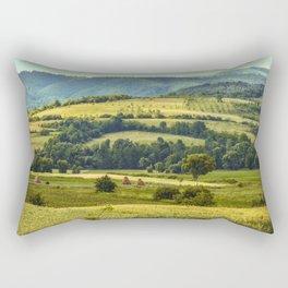 Over the hills and far away Rectangular Pillow