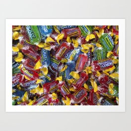 Candies 4 Art Print