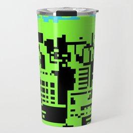 cityscape 07A (C64 remix) (2011) Travel Mug