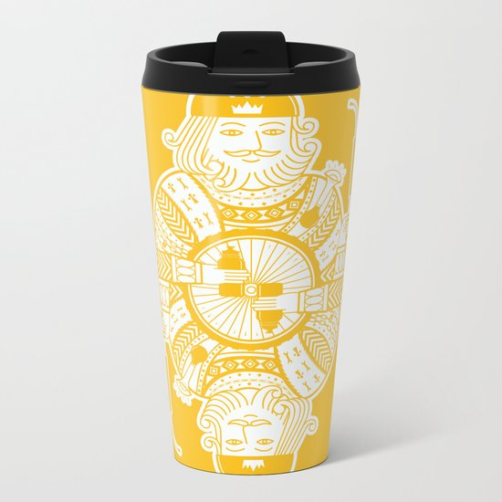 King of the road Metal Travel Mug
