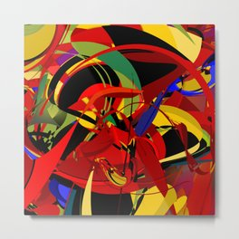 Dialated Irrationality Metal Print