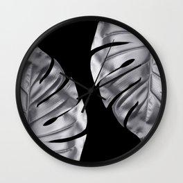 Silver blood Wall Clock