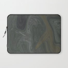 Winter Green Vortex Laptop Sleeve