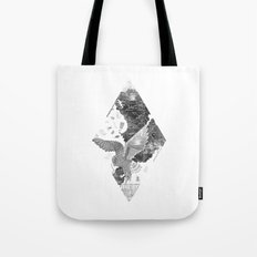OWL MAP Tote Bag