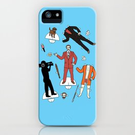 Cut It Out: Ron Burgundy iPhone Case