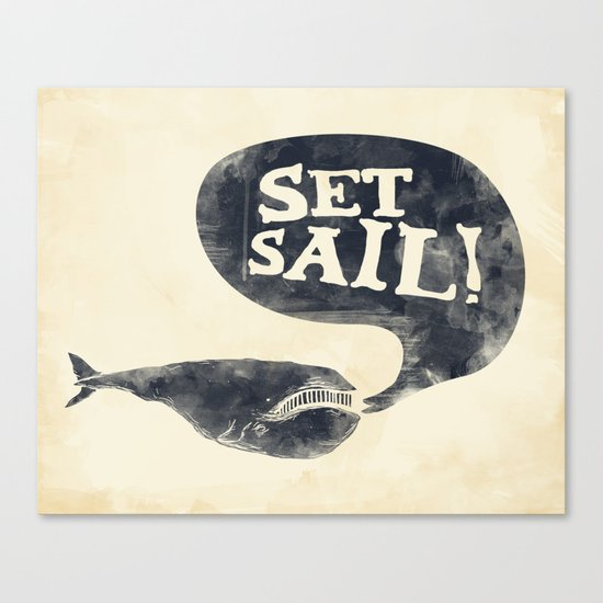 Set Sail! Canvas Print