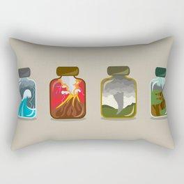Disaster In A Jar Rectangular Pillow