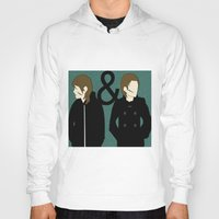 tegan and sara Hoodies featuring tegan & sara by lizbee