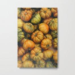 campio de' Fiori heirloom tomatoes Metal Print