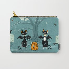 Halloween Hell Cats ©studioxtine Carry-All Pouch